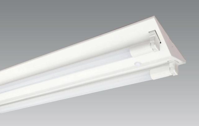 【即納】 UNITY/ユニティ LEDベースライト V2 逆富士 LED直管蛍光灯40W形用 片側給電タイプ ☆チューブスター ベース☆ UVL-8742 ※LED電球別売
