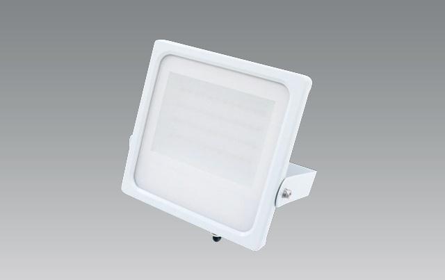 【納期2~3日】 UNITY/ユニティ LED屋外照明 投光器 HID70W相当 色温度3000K 防雨型 本体ホワイト ☆FLOOD LIGHT☆ TS-810-30-30-W