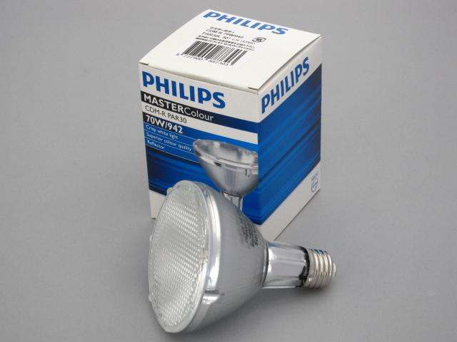 【販売終了】 PHILIPS/フィリップス HID電球 セラメタランプ CDM-R70W PAR30 4200K 30° E26 ☆CDMランプ☆ CDM-R 70W/942 PAR30 30°