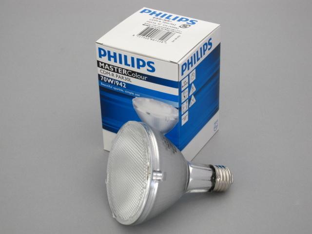 【在庫限り】 PHILIPS/フィリップス HID電球 セラメタランプ CDM-R70W PAR30 4200K 40° E26 ☆CDMランプ☆ CDM-R 70W/942 PAR30 40°
