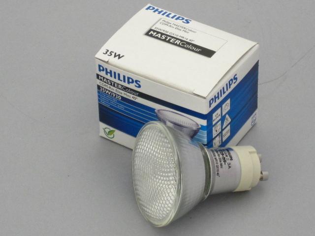 【在庫限り】 PHILIPS/フィリップス HID電球 セラメタランプ CDM-Rm35W MR16 3000K 40° GX10 ☆CDMランプ☆ CDM-Rm Elite Mini 35W/930 40°