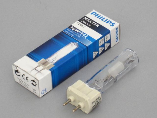 【即納】 PHILIPS/フィリップス HID電球 セラメタランプ CDM-T70W 4200K G12 ☆CDMランプ☆ CDM-T 70W/942