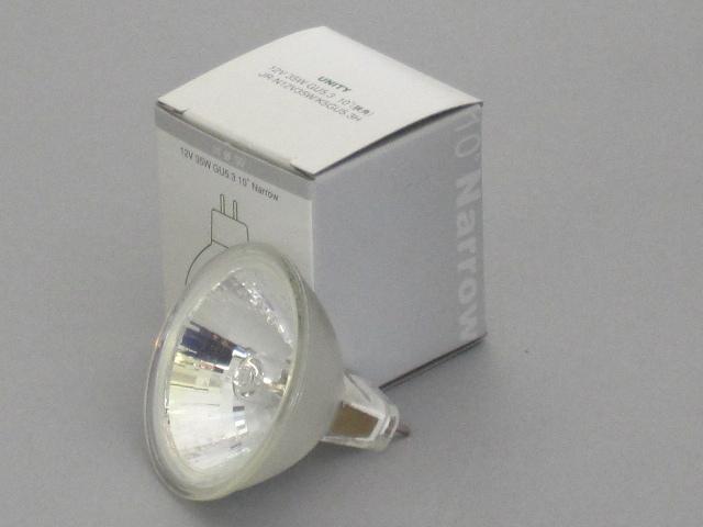 【即納】 UNITY/ユニティ ハロゲン電球 JR12V35W 径50mm GU5.3 狭角 ☆ダイクロハロゲン12V用☆ JR-N12V35W/K5-GU5.3H