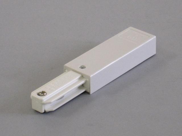 【即納】 TOSHIBA/東芝 新モデル 配線ダクトレール 電源引込 ☆ライティングレールVI形シリーズ フィードインキャップ(白)☆ NDR0231