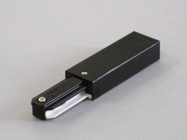【即納】 TOSHIBA/東芝 新モデル 配線ダクトレール 電源引込 ☆ライティングレールVI形シリーズ フィードインキャップ(黒)☆ NDR0231(K)