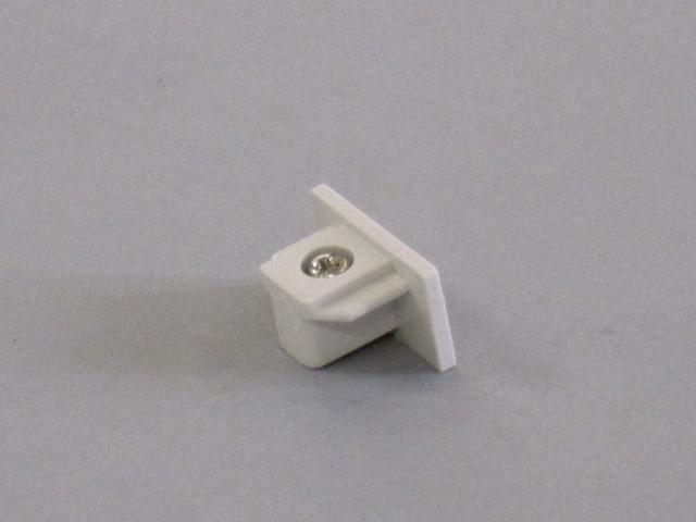 【即納】 TOSHIBA/東芝 新モデル 配線ダクトレール 端末 ☆ライティングレールVI形シリーズ エンドキャップ(白)☆ NDR0232