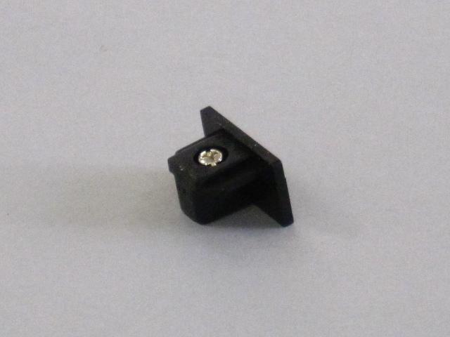 【即納】 TOSHIBA/東芝 新モデル 配線ダクトレール 端末 ☆ライティングレールVI形シリーズ エンドキャップ(黒)☆ NDR0232(K)