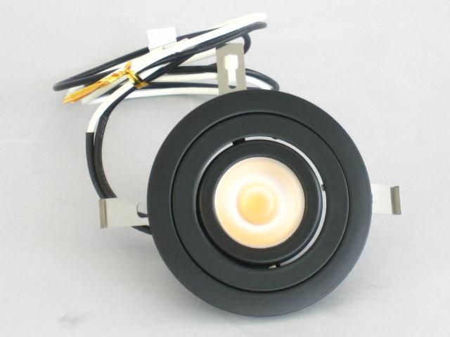 【特選品お買い得セール】 UNITY/ユニティ LED家具・什器照明 LED棚下ユニバーサルダウンライト JR12V20W相当 ケーブルタイプ 100V直結 埋込穴75mm 色温度3000K 本体ブラック ☆コインエース☆ UDL-1902B-30