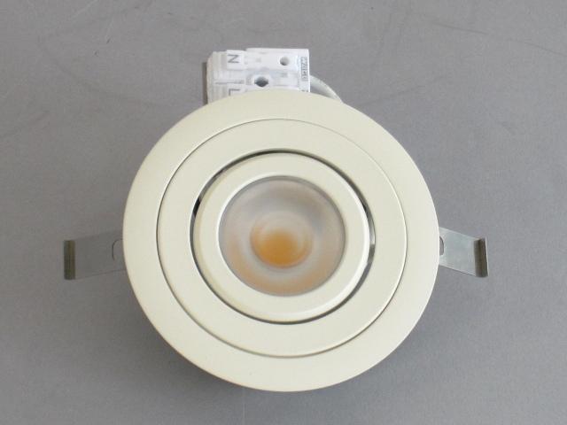 【特選品お買い得セール】 UNITY/ユニティ LED家具・什器照明 LED棚下ユニバーサルダウンライト JR12V20W相当 端子台タイプ 100V直結 埋込穴75mm 色温度3000K 本体ホワイト ☆コインエース☆ UDL-1903W-30