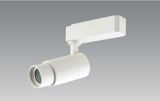 【新商品・即納】 UNITY/ユニティ LEDダクトレールスポットライト 配光角度調整可能タイプ JR12V50W相当 色温度2700K 本体ホワイト ☆LEDレールライト LUTEA☆ USL-5101W-27