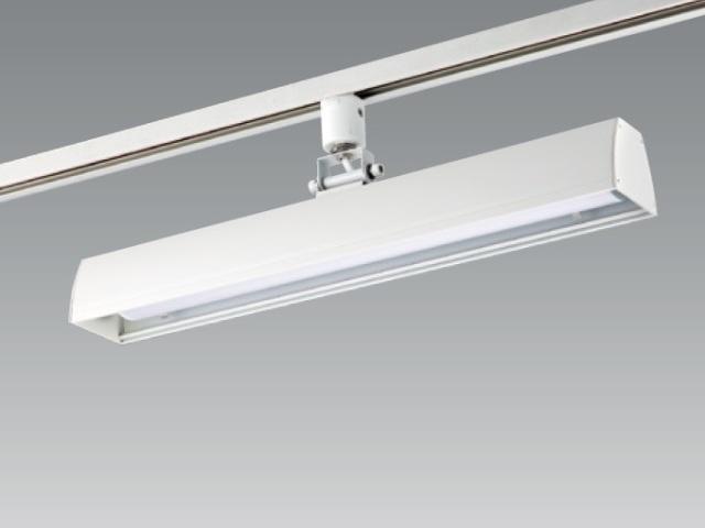 【納期1~2日】 UNITY/ユニティ ダクトレール取付LEDベースライト 自在型 450mm 色温度3000K 本体ホワイト ☆LEDレールライト スィングベース☆ UFL-8450W-30