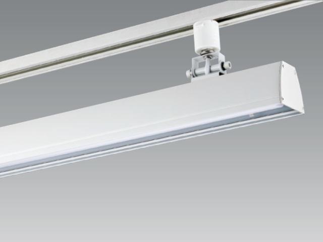 【納期1~2日】 UNITY/ユニティ ダクトレール取付LEDベースライト 自在型 600mm 色温度3000K 本体ホワイト ☆LEDレールライト スィングベース☆ UFL-8451W-30