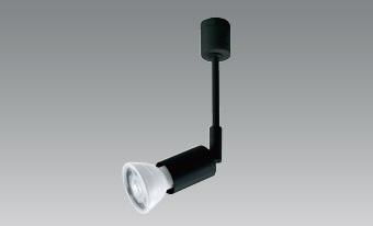 【即納】 UNITY/ユニティ LEDダクトレールスポットライト 本体ブラック ☆ダイクロハロゲン電球形LEDランプ 電球交換可能型  type-E series[E11]☆ USL-185B ※LED電球別売