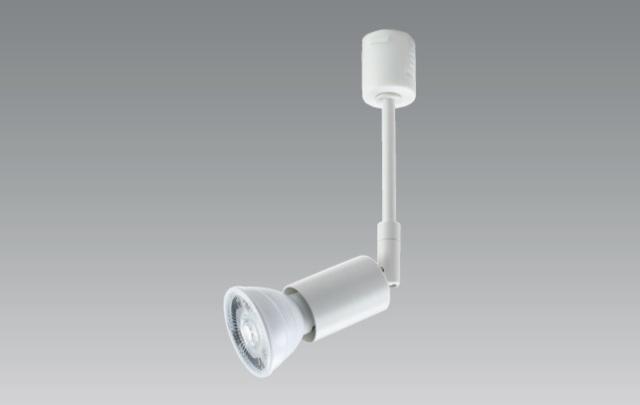 【即納】 UNITY/ユニティ LEDダクトレールスポットライト 本体ホワイト ☆ダイクロハロゲン電球形LEDランプ 電球交換可能型  type-E series[E11]☆ USL-185W ※LED電球別売