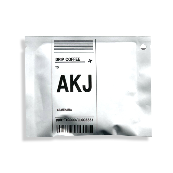 【DRIP COFFEE】AKJ (旭川空港)深煎りミックス 13g