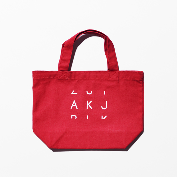 『3Letter Code Products.』 AKJ  ORIGINAL TOTE BAG(ランチバッグS)【単品購入クリックポスト可】