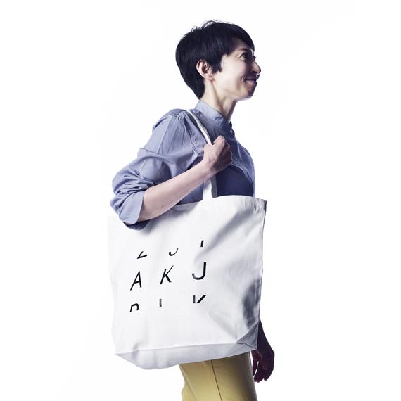 『3Letter Code Products.』 AKJ  ORIGINAL TOTE BAG(Lサイズ)【単品購入クリックポスト可】