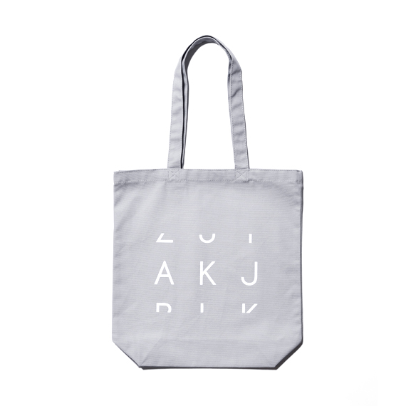 『3Letter Code Products.』 AKJ  ORIGINAL TOTE BAG(Mサイズ)【単品購入クリックポスト可】