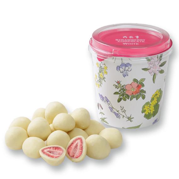 ストロベリーチョコ箱 ホワイト