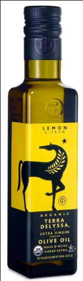 (特別価格)  テラデリッサ オーガニック エクストラヴァージン オリーブオイル (レモン) (250ml)