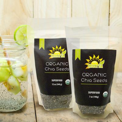 Nutria Organic Chia Seeds ヌートリア オーガニック チアシード