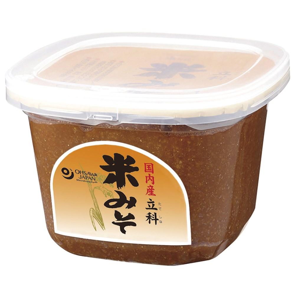 国内産立科米みそ(カップ) 750g