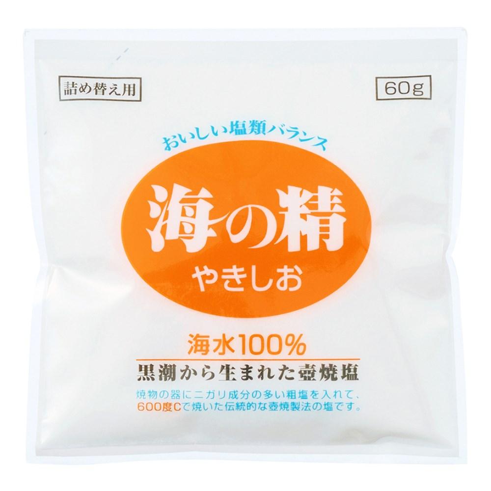 海の精 やきしお(詰替用) 60g