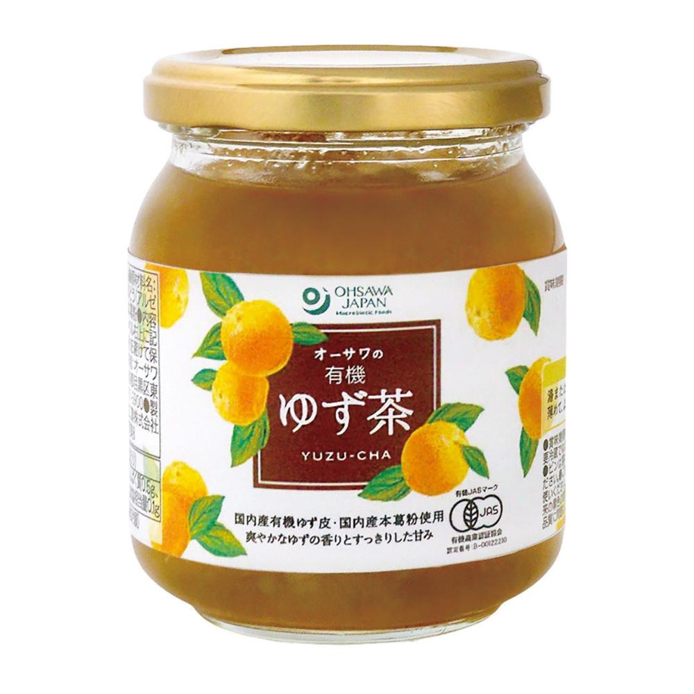 オーサワの有機ゆず茶 260g 【季節品のため休止中】