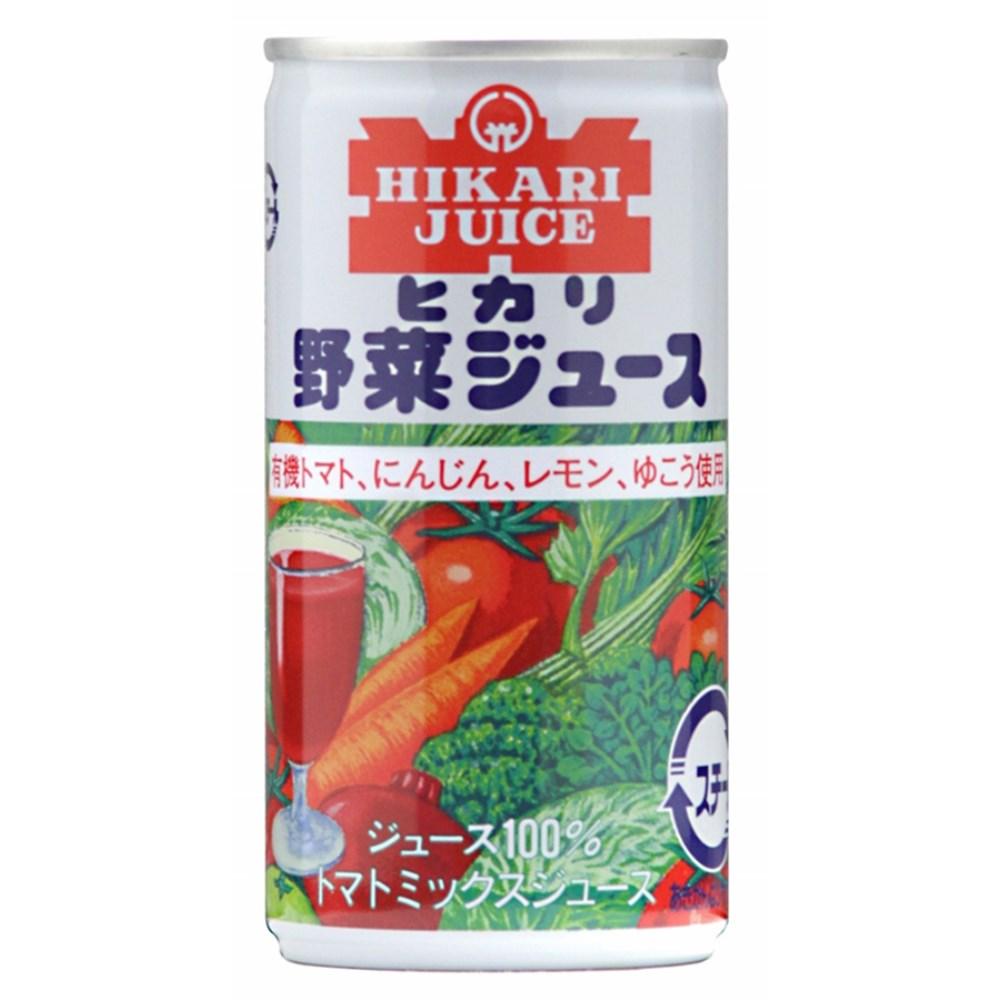 ヒカリ 野菜ジュース(有塩) 190g