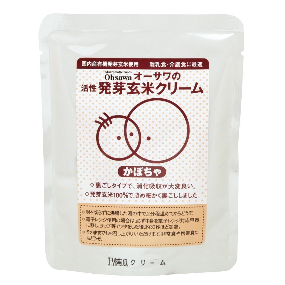 オーサワの活性発芽玄米クリーム(かぼちゃ) 100g