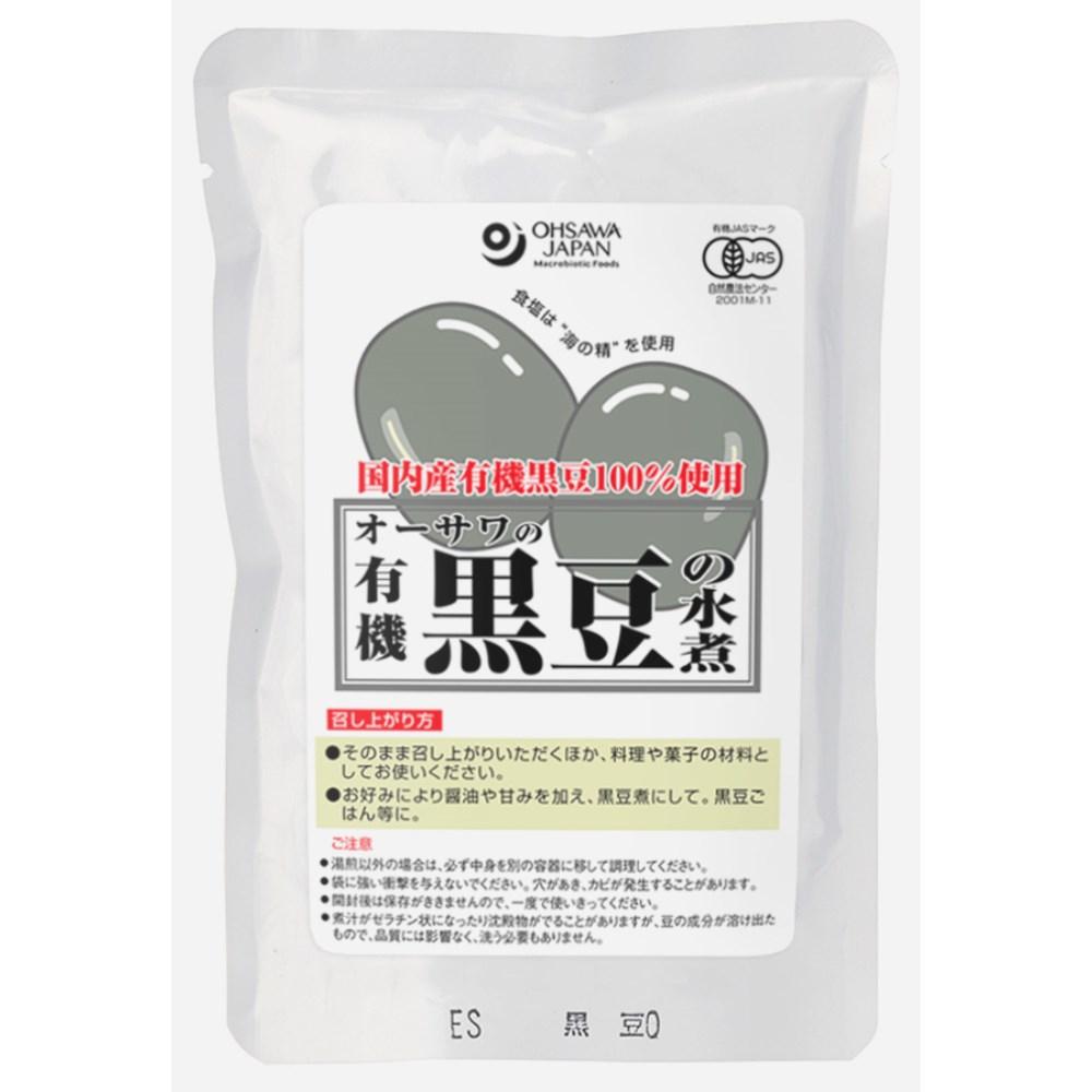 有機黒豆の水煮 230g(固形量140g)