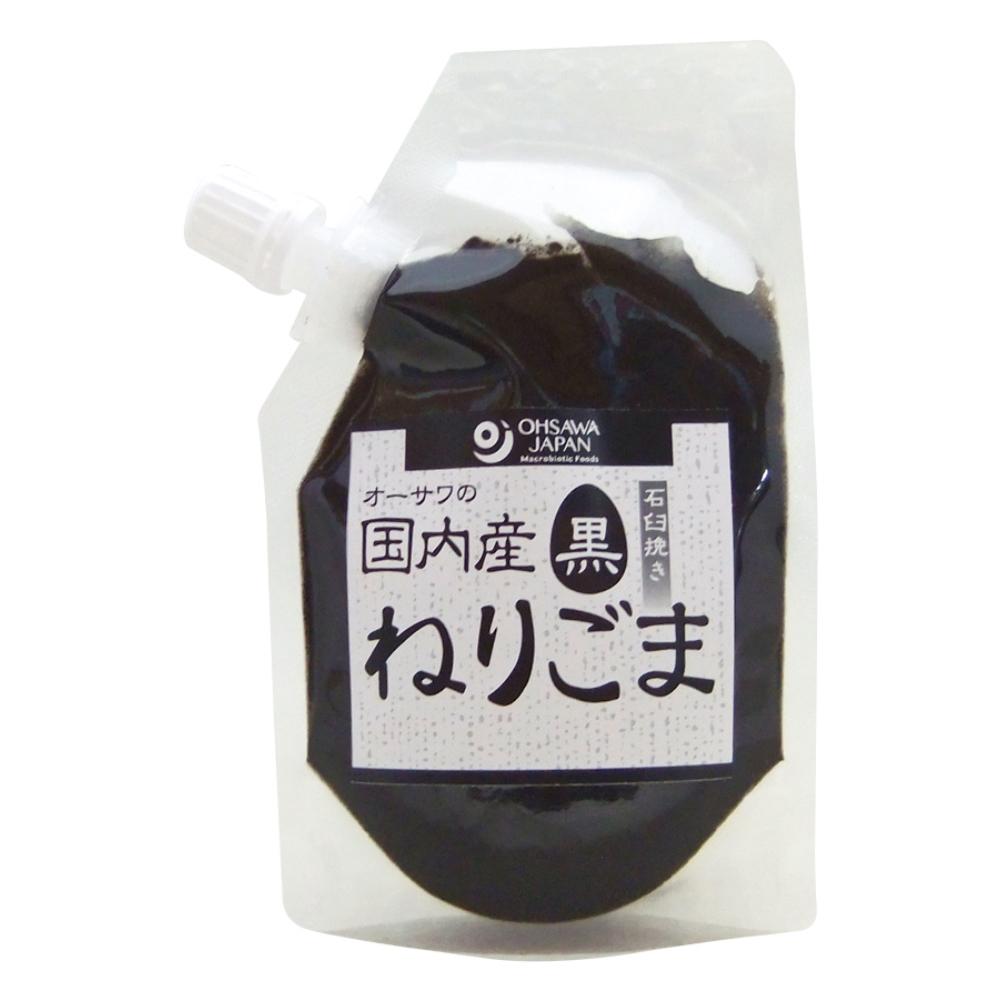 オーサワの国内産ねりごま(黒) 60g