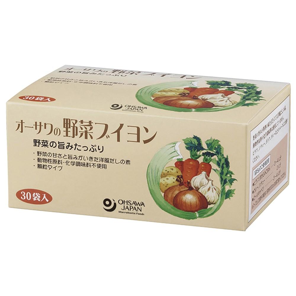 オーサワの野菜ブイヨン (徳用) 150g(5g×30包)