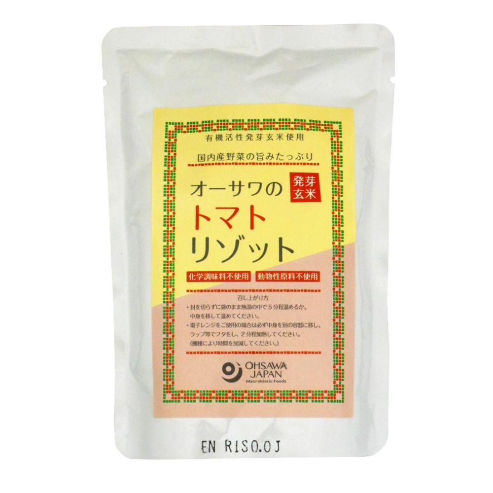 オーサワの発芽玄米トマトリゾット 200g