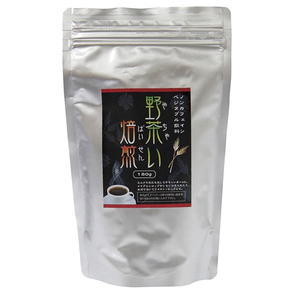 野茶い焙煎 チコリーコーヒー (詰替用・袋) 180g