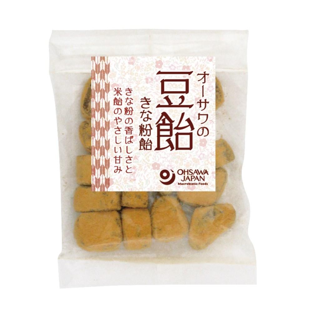 オーサワの豆飴(きな粉飴) 50g