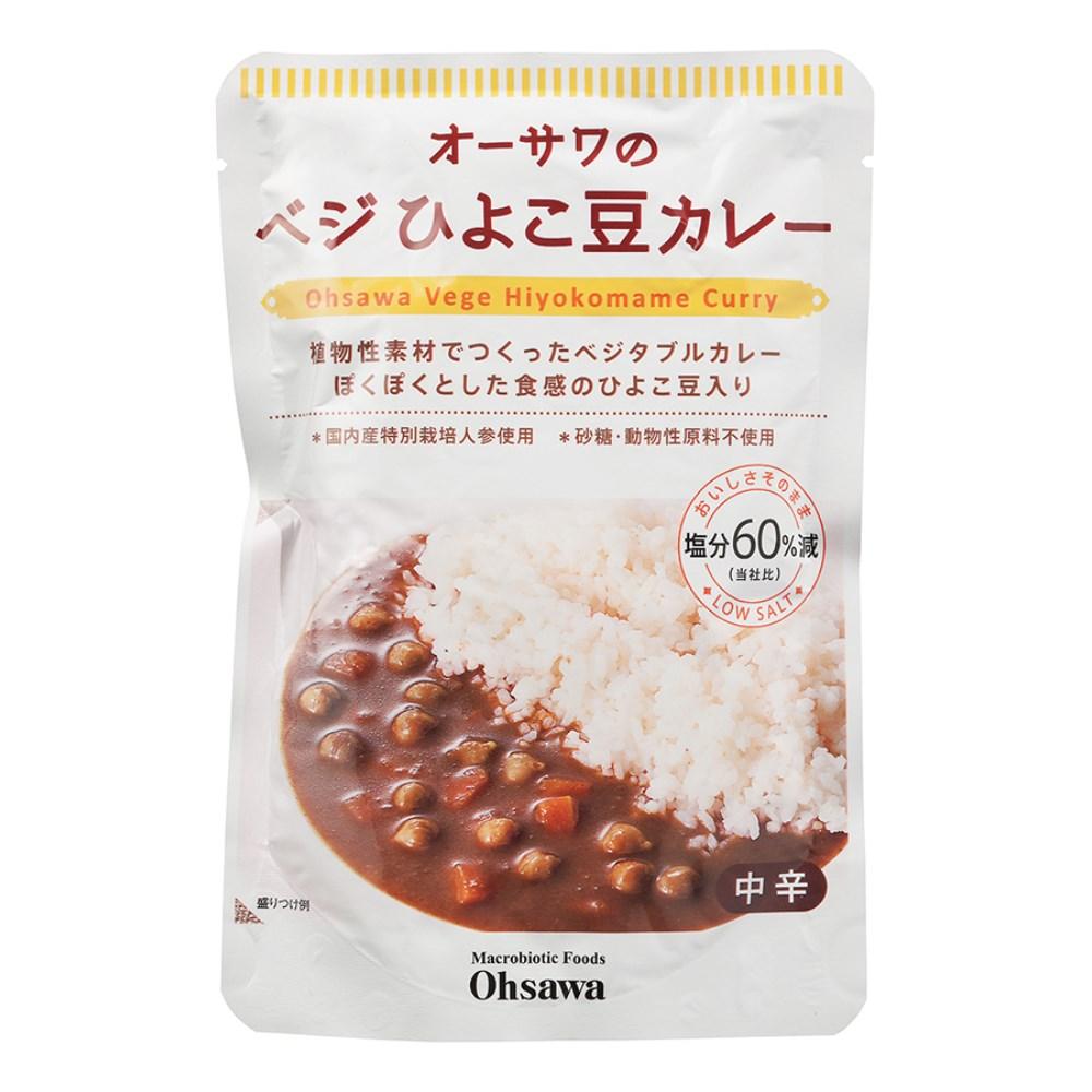 オーサワのベジひよこ豆カレー 210g