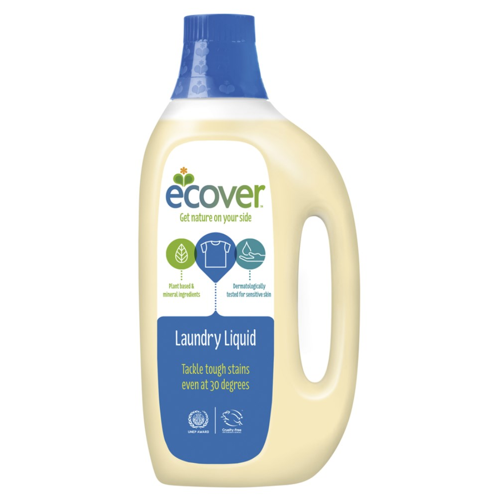 エコベール ランドリー リキッド(洗たく用液体洗剤) 1500ml