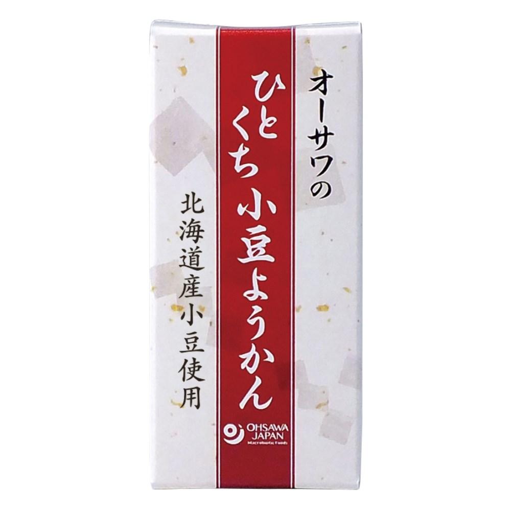 オーサワのひとくち小豆ようかん 1本(58g)