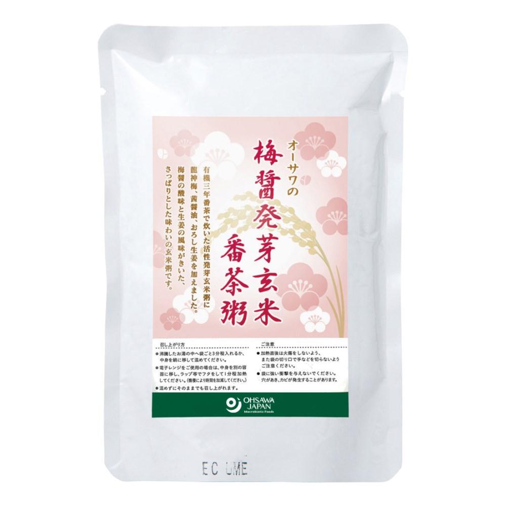 オーサワの梅醤発芽玄米番茶粥 200g