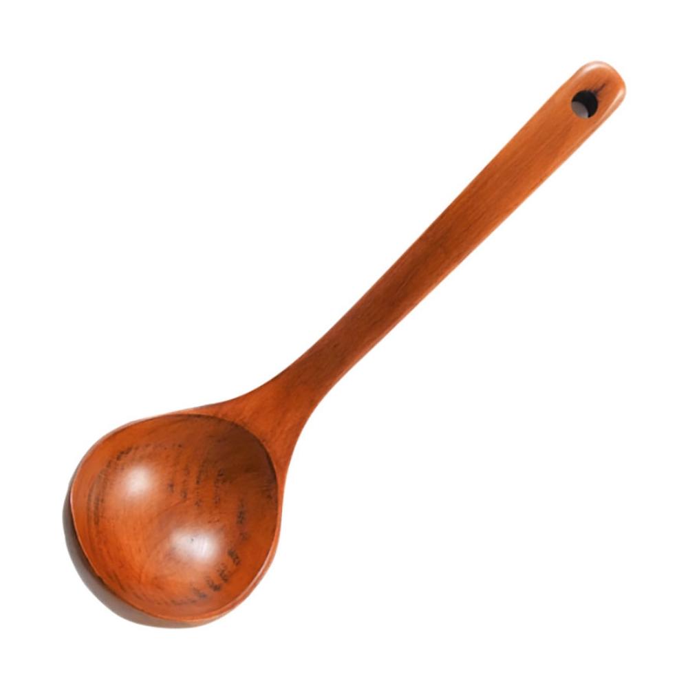 木製食器 ブナおたま(ウルシ)