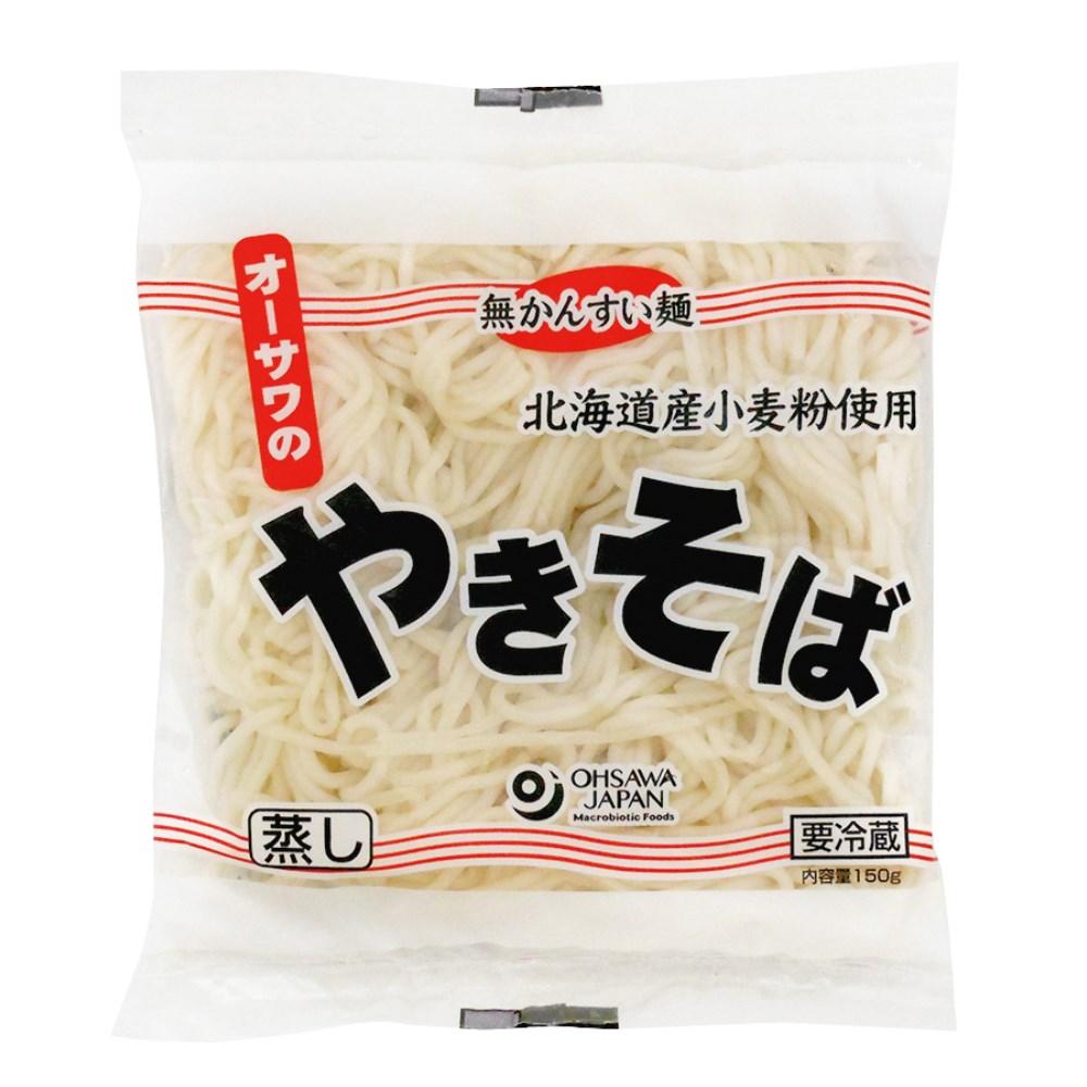 【冷蔵品】オーサワのやきそば(蒸し麺) 150g