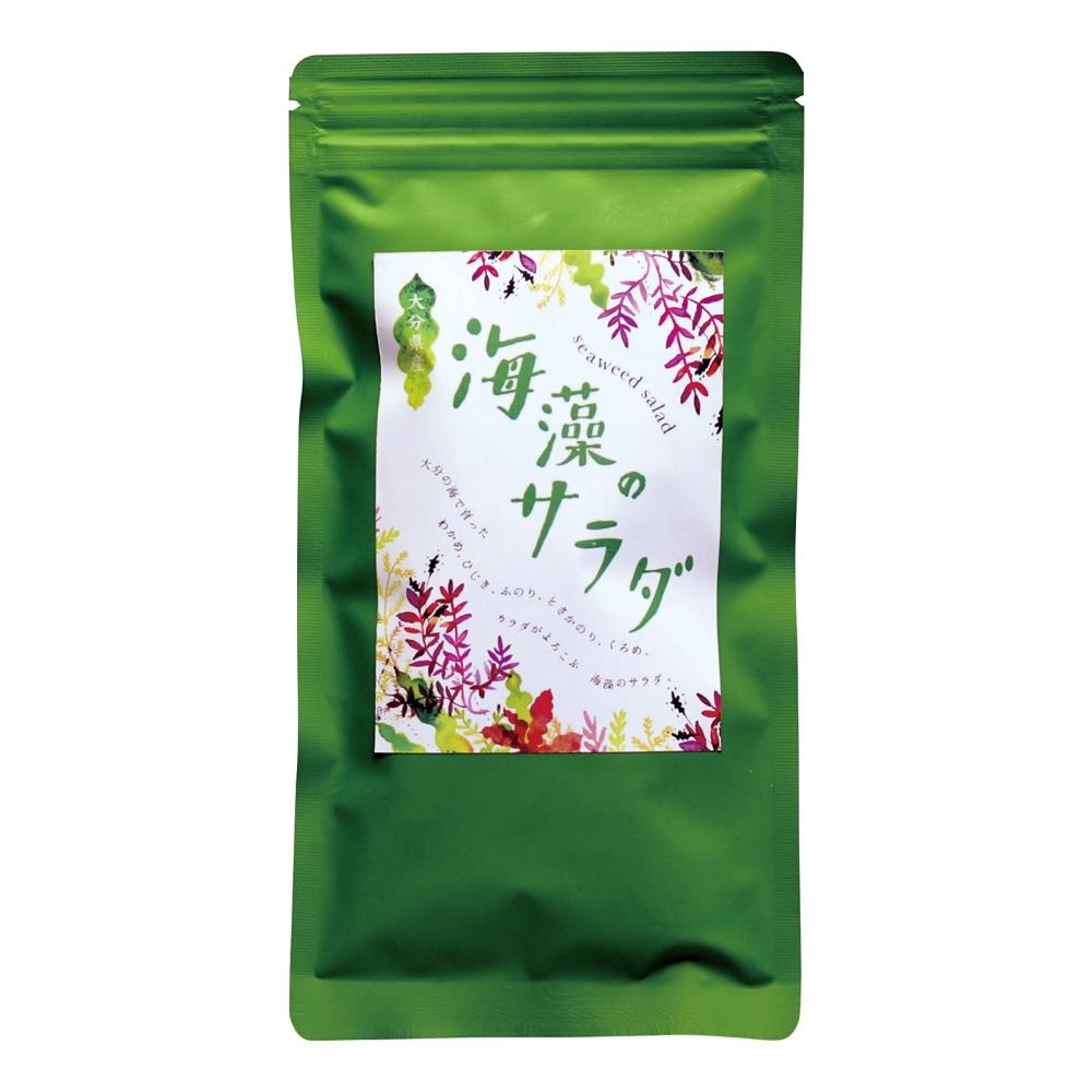 【冷蔵品】 大分県産 海のサラダ(塩蔵・海藻サラダ) 160g