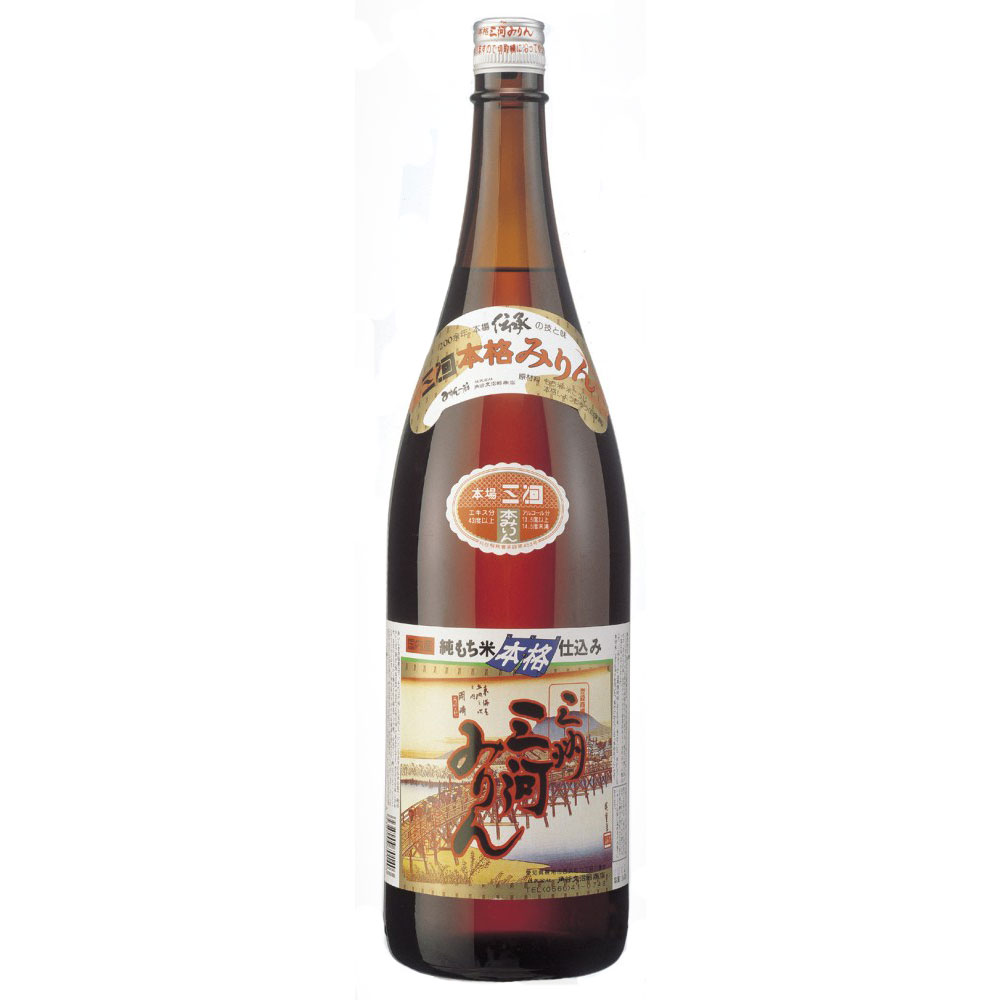 【酒類】 三州(さんしゅう)三河みりん 1.8L 【リマセレクション】