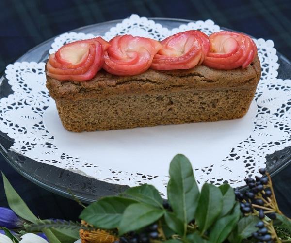 【期間限定】【リマ特選産直品】 アロハス りんごとほうじ茶のパウンドケーキ 1本(320g)