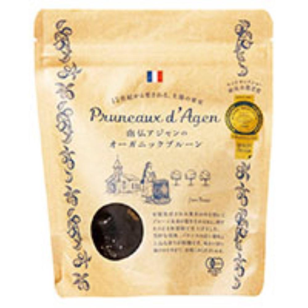 南仏アジャンのオーガニックプルーン(種付き) 200g