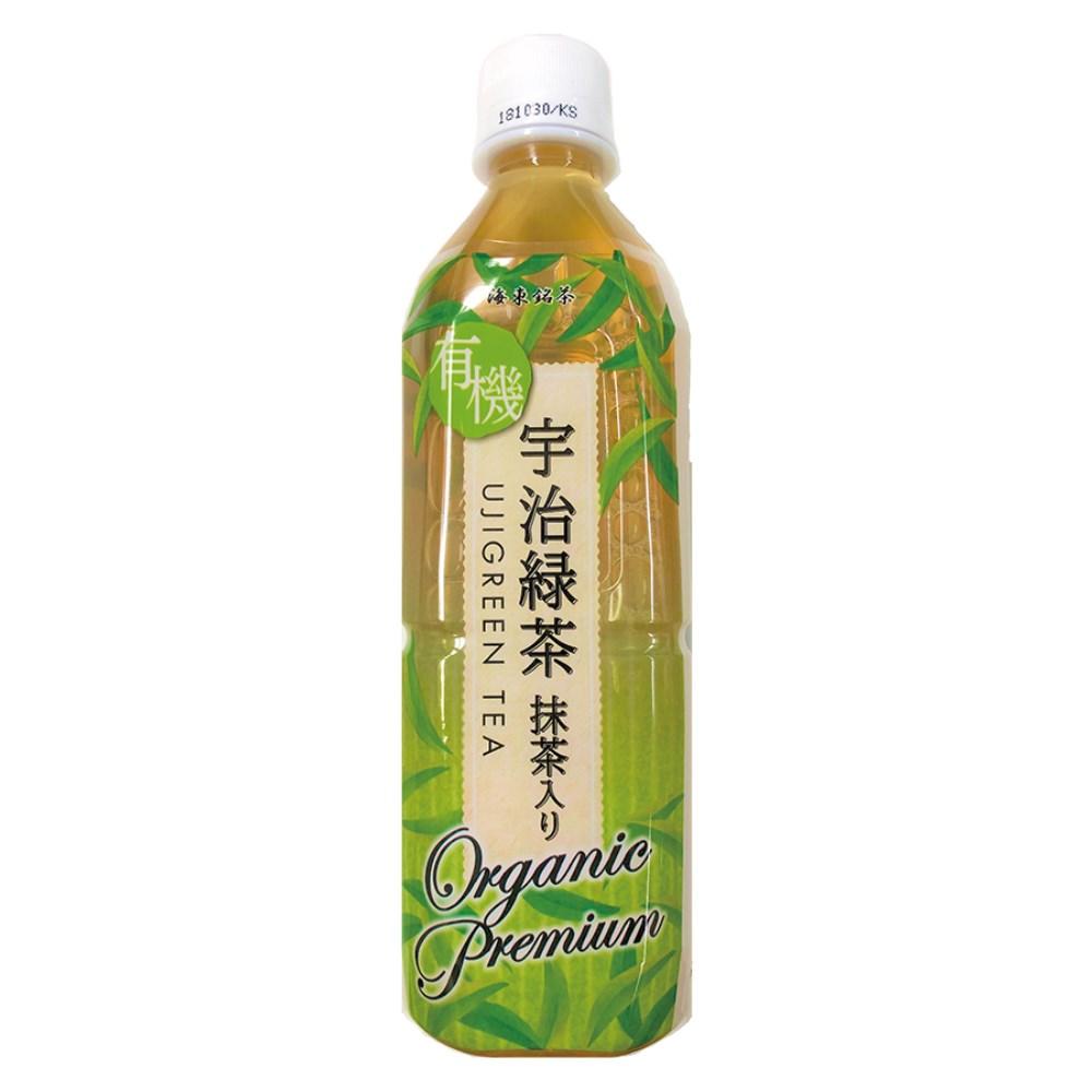 有機宇治緑茶・抹茶入り(ペットボトル) 500ml