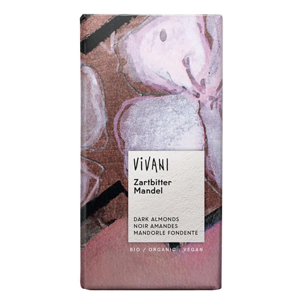 ViVANI(ヴィヴァーニ) オーガニック ダークチョコレート アーモンド 100g