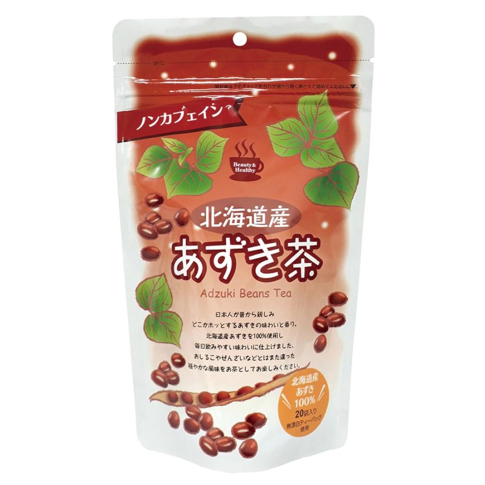北海道産あずき茶(ティーバッグ) 80g(4g×20袋)
