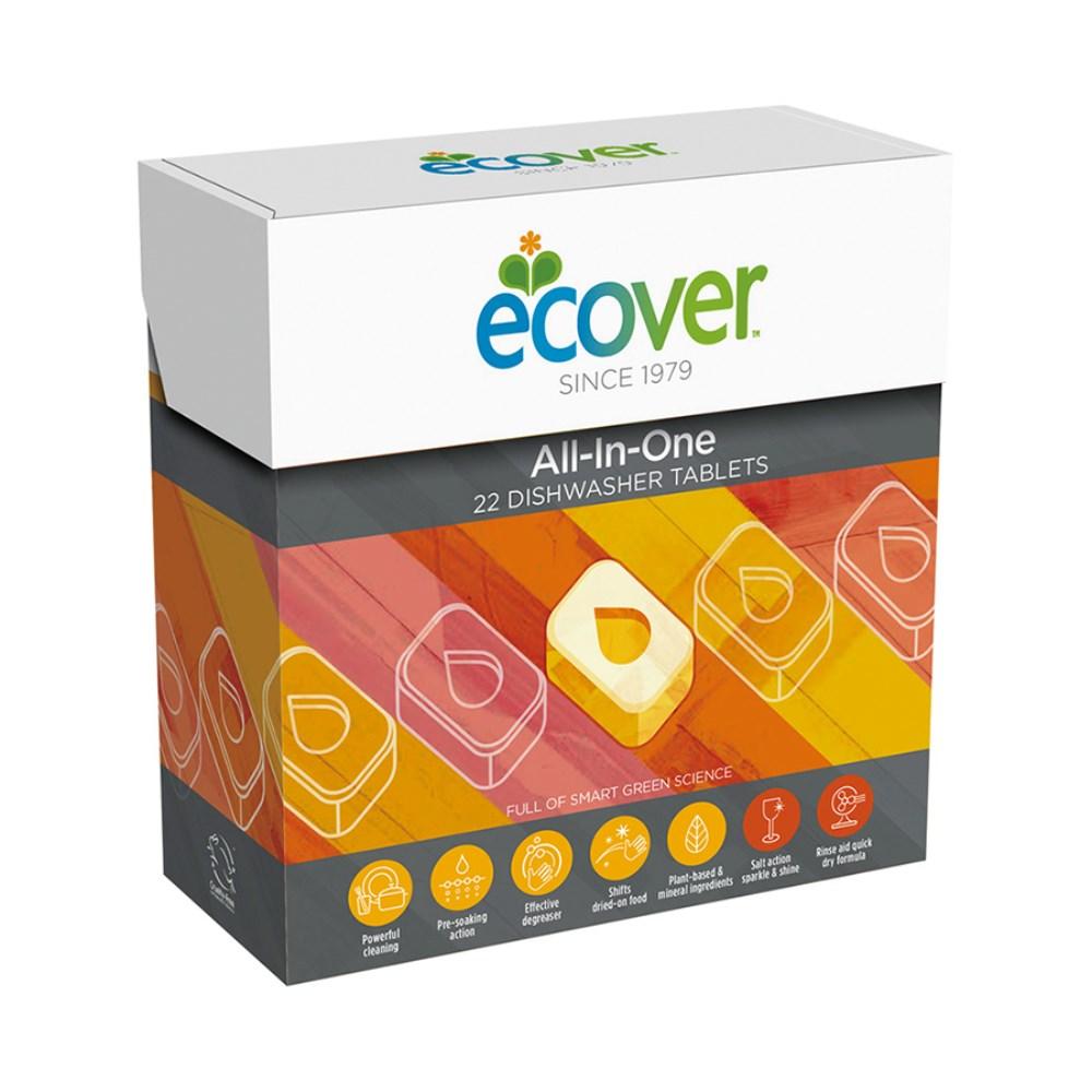 エコベール ディッシュウォッシャータブレット(食器洗い乾燥機専用洗剤) 440g(20g×22個)